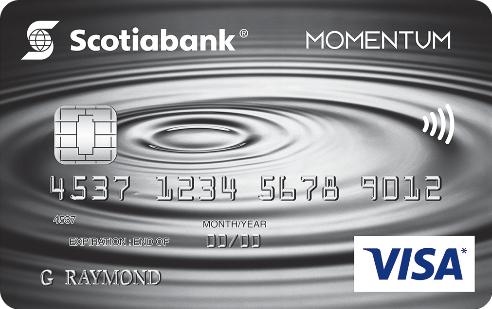 Scotia Momentum Visa Infinite Card
