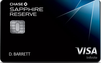 Chase Sapphire Reverse Credit Card