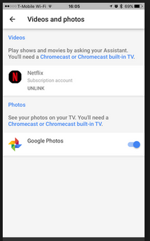 Google Assistant and Netflix