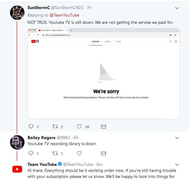 YouTube Tweets 2