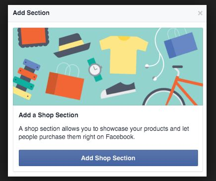 Add a Store to Facebook Page