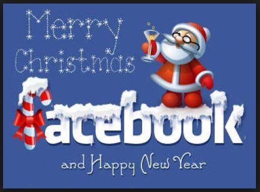 Facebook Xmas Cards