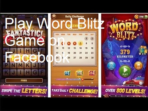 Facebook Messenger Word Blitz Game