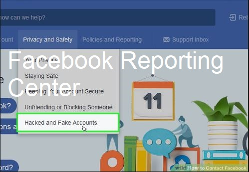 Facebook Reporting Center