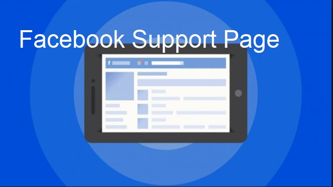 Facebook Support Page