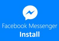 Facebook Messenger Install