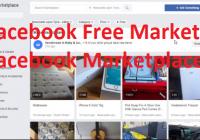 Facebook Free Market