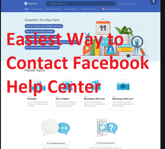 Help Center for Facebook