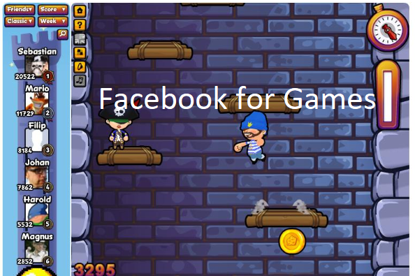 Facebook for Games