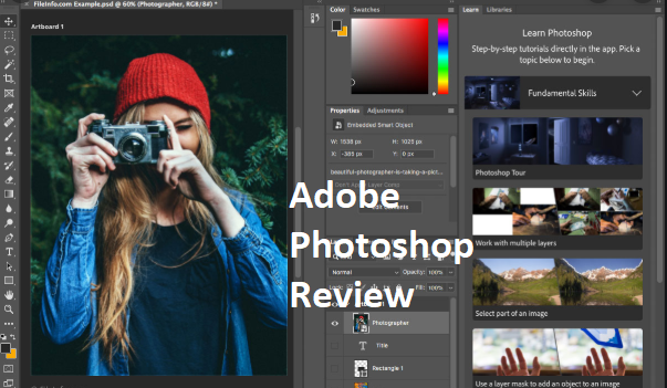 Adobe Photoshop Review