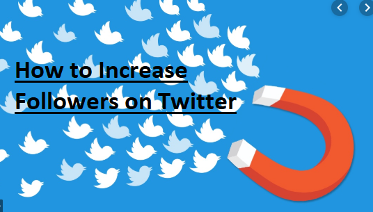 How to Increase Followers on Twitter