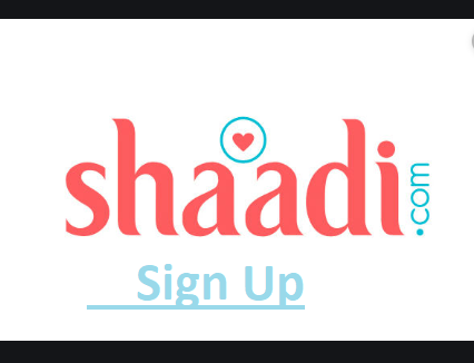 Shaadi.com Sign Up