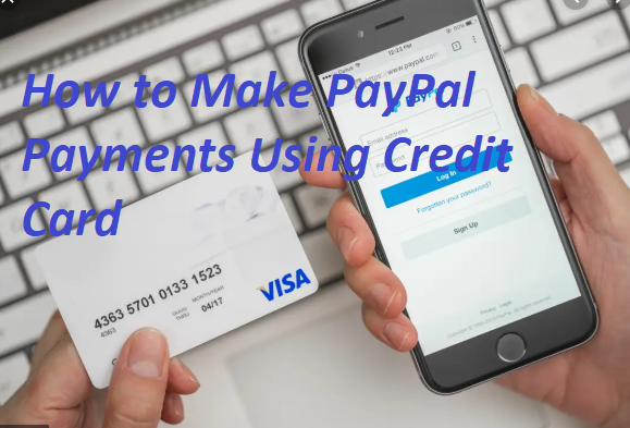 How to Make PayPal payment using credit card