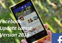Facebook Update Latest Version