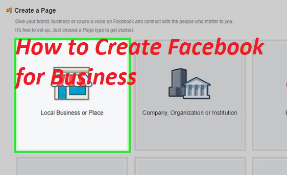 How to Create Facebook For Business