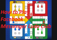 How to Play Facebook Messenger Ludo Club Game