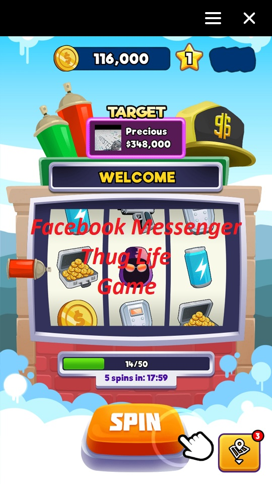 How to Play Facebook Messenger Thug Life Game
