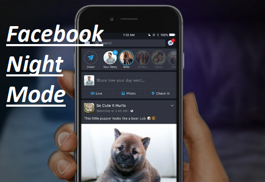 Facebook Night Mode – How to Enable Facebook Night Mode 2020 | Dark Mode Facebook Settings