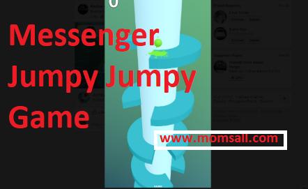 Facebook Messenger Jumpy Jumpy Game