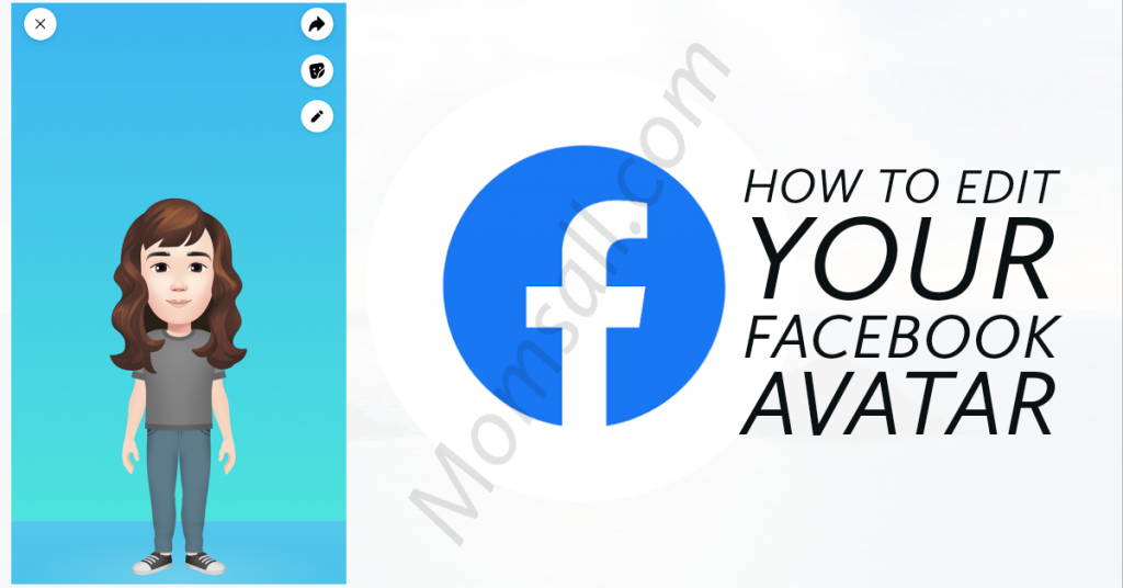 How to Edit Your Already Created Facebook Avatar | Edit Facebook Avatar