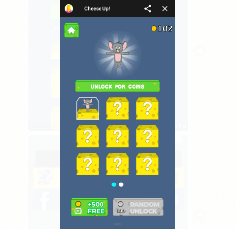 How To Play Online Cheese Up Game On Facebook Messenger