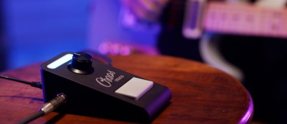 Chaos Audio's Multieffects Guitar Pedal Connects To Your Smartphone