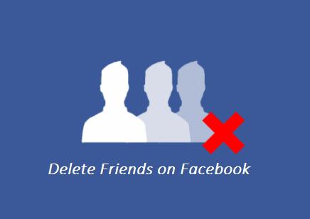 Delete Friends On Facebook (FB)