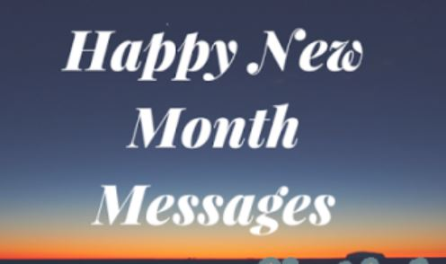 Facebook Happy New Month Wishes