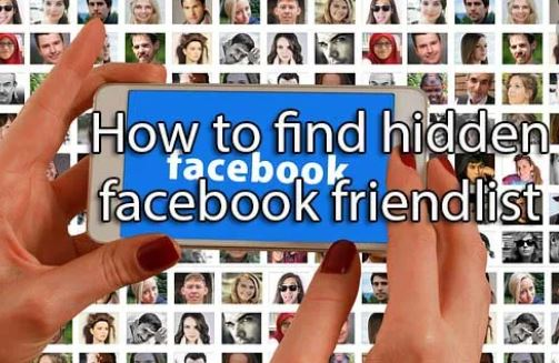 View Private Friends List On Facebook