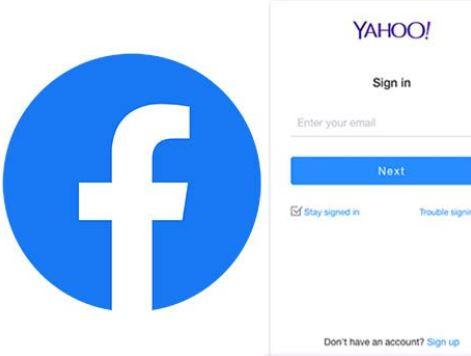 Yahoo Mail Login Facebook