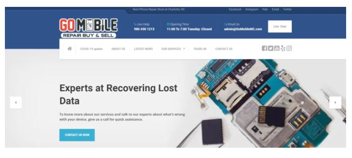 Go Mobile, Cell Phone Repair Shop