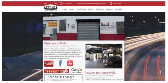 Phil's Excellent Auto Service Inc.