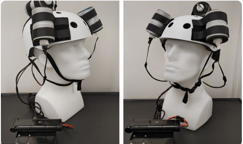 A magnetic helmet shrunk a deadly tumor in world-first test