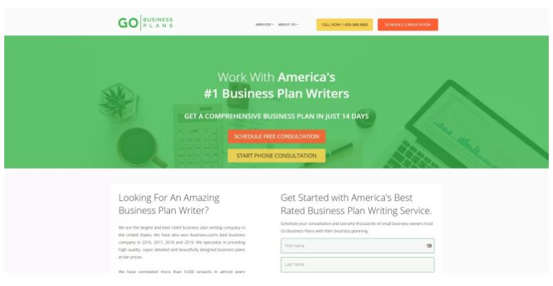 Go Business Plans