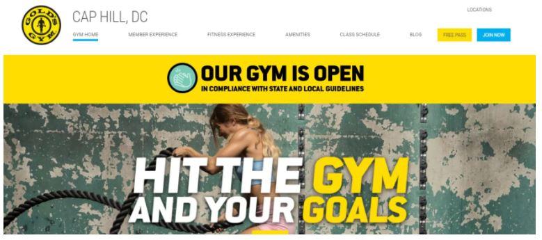 Top 5 Gyms in Washington, DC